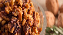 Sweet and Salty Rosemary California Walnuts
