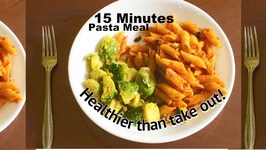 Fast 15 Minutes Pasta Lunch Meal Menu  Totally Indian Style