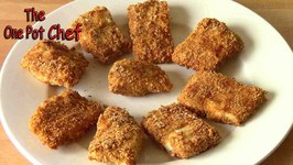 Oven Baked Fish Nuggets