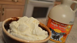 How to Make Maple Syrup Whipped Cream