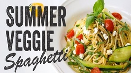 Summer Veggie Spaghetti Recipe  Season 3, Ep. 1