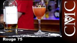 The Rouge 75, NYE Cocktail With Freixenet Cordon Negro