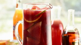 Watermelon Pomegranate Sangria