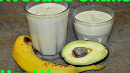 Healthy Avocado Milk Shake Simple