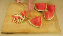 How To Remove The Watermelon Rind