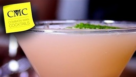 Easy Gin Drink-Sour Blush Martini  Easy Cocktails For Everyone