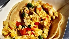 Sweet Potato Breakfast Tacos - The Peached Tortilla Foodtruck