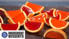 Orange Wedge Jello Shots  5 Ingredient Desserts
