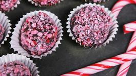 How To Make Candy Cane Truffles