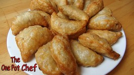 Beef And Potato Curry Puffs