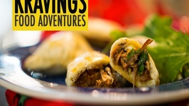 Stuffed Empanadas -Filled With Mexican Pulled Chicken
