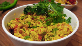 Paneer Bhurji - Sabzis - Indian Vegetarian Recipes