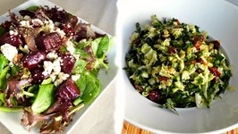 Kale & Napa Cabbage Salad  Roasted Beet Salad  Quick & Easy Healthy Recipes