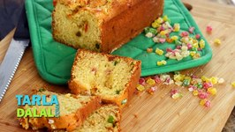 Orange and Tutti Frutti Loaf, Recipe in Hindi