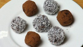 Christmas Fruit Cake Truffles