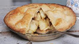 Homemade Apple And Cinnamon Pie Recipe