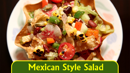Mexican Style Salad  Healthy Salad Recipe  Ruchi's Kitchen