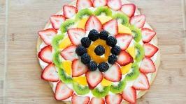 Fruit Pizza Recipe - Easy and fun dessert