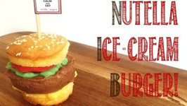 How to Make a Nutella Ice-cream Burger - A Burger Collaboration video