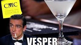 Vesper Martini / Cocchi Americano Or Lillet Blanc - Winner?