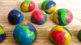 Rainbow Unicorn Poop Bubble Gum