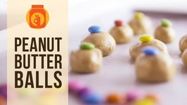 No Bake Peanut Butter Balls  DIY