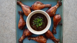 How to Bake Teriyaki Skinless Chicken Drumsticks- SmarterBaking with Kimberly