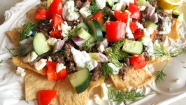 Appetizer Recipe-Greek Style Nachos