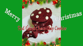 5-Minutes Red Velvet Choco Chip Cookies
