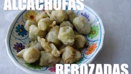 Alcachofas Rebozadas, Receta Grabada Con Una Gopro