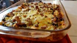 Mixed Cheese Breakfast Casserole