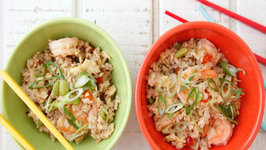 Shrimp UnFried Rice - Healthy Dinner