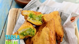 Bread Pakoda by Tarla Dalal