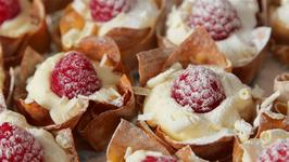 White Chocolate Raspberry Parcels
