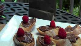 Nutella Dessert Nutella Berry Crostini