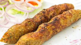 Veg Seekh Kababs Recipe - Vegetarian Tandoori Recipes at Home
