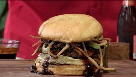 Smokey Double Bison Bacon Cheeseburger