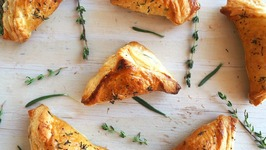 Appetizer Recipe- Mushroom, Herb And Gruyere Puffs