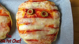 Halloween Mummy Pizzas  One Pot Chef