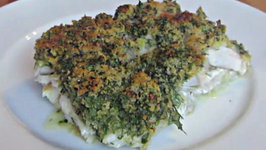 XL Fish with Fresh Herbs Crust - English Grill and BBQ