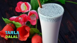 Rose Milk, Rose Milk Recipe with Sabza Seeds