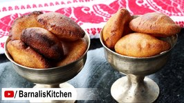 Tel Pithaa /Ghilaa Pitha - Delicious Rice Fritters - Assamese Bihu Delicacies