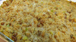 Betty's Pecan-Sage Cornbread Dressing -Thanksgiving