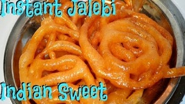 Easy Instant Jalebi - Indian Fennel Cake Sweet