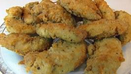 Betty's Favorite Fried Chicken Tenders