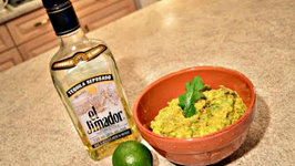 How to Make Sun Dried Tomato Tequila Guacamole
