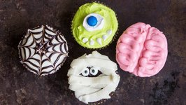 Halloween Cupcakes FOUR Spooktacular Ways