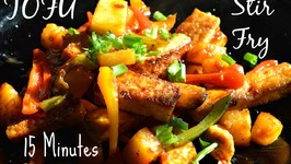 Tofu Fry quick Easy Simply Awesome Vegetable Stir Fry
