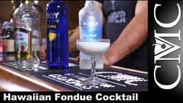 Hawaiian Fondue Cocktail