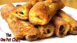 Nutella French Toast Rolls  One Pot Chef